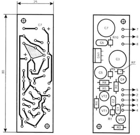колонке звуковых динамиков
